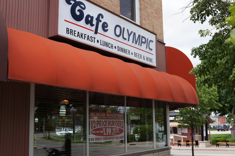Cafe Olympic in Crystal Lake, Illinois