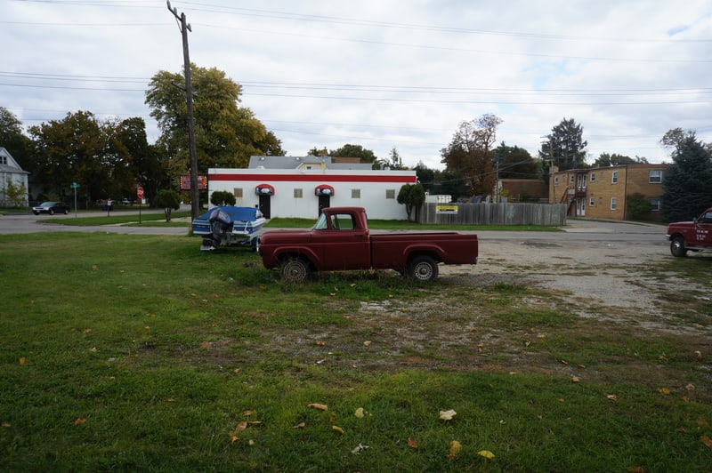 Old truck in Waukegan, IL