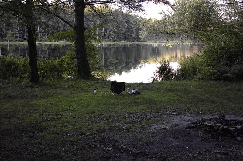 Campsite at Hickok Brook