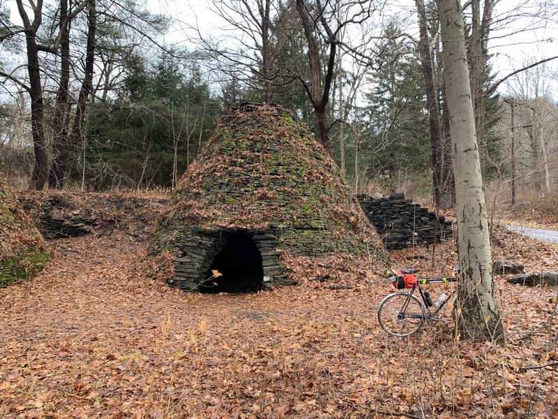 Kilns from the old ironworks in Wassaic