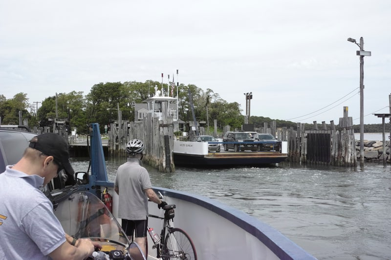 Aboard the South Ferry to Shelter Island