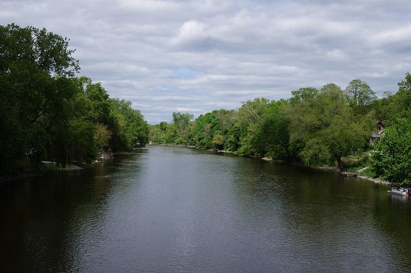 Crossing the Fox River